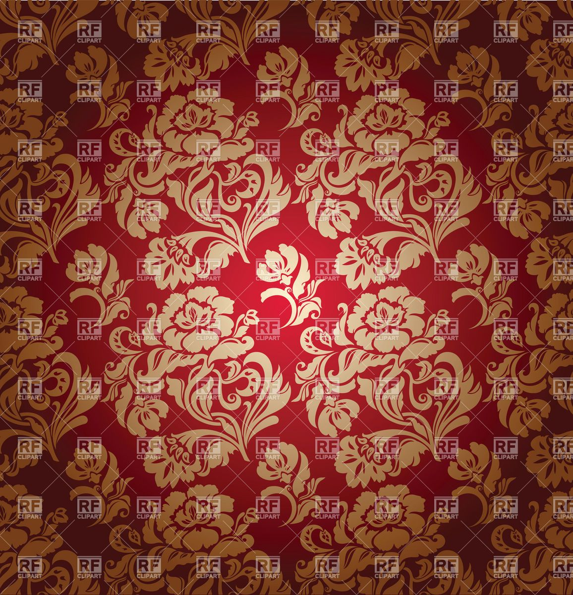 Victorian wallpaper borders wall covering seamless red for Victorian wallpaper