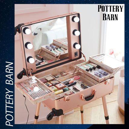 Photo of Pottery Barn メイク 化粧品 収納 トラベル 旅行 キャリー 鏡【BUYMA】