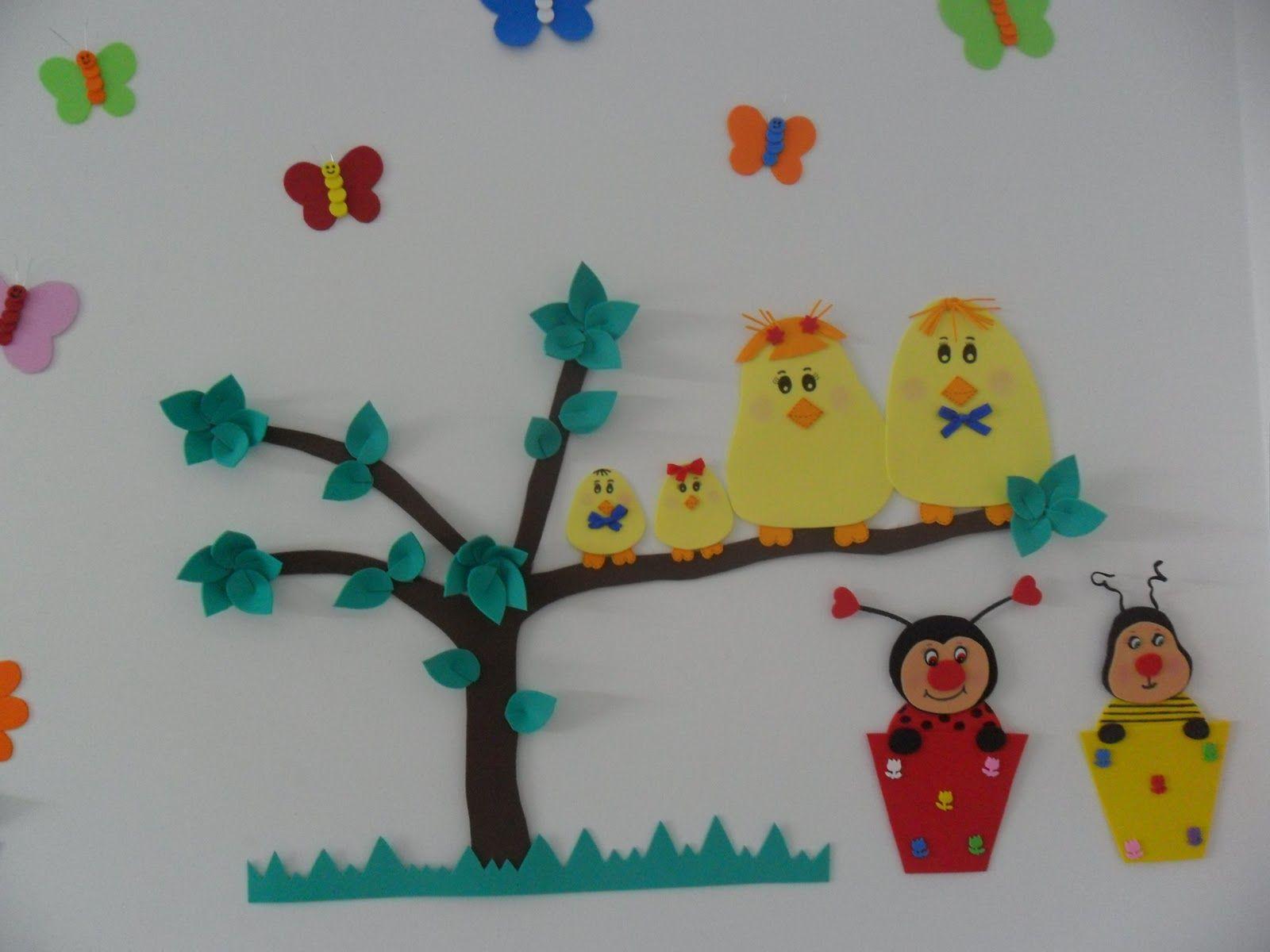 Decora O Brinquedoteca Floresta Pesquisa Google Brinquedoteca  -> Modelo De Painel Com Animais Facil De Fazer Em Eva Para Enfeitar Sala De Becario