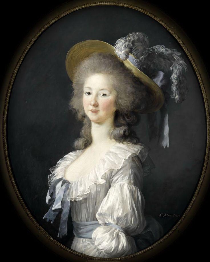 Élisabeth Vigée Le Brun - Portrait de la princesse de Lamballe: | Marie  thérèse, Louise de savoie, Portrait de mariée