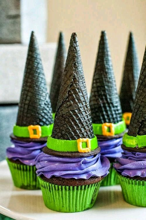 Pin by Jenn Rose on Desserts P Pinterest Halloween parties - decorating ideas for halloween cupcakes