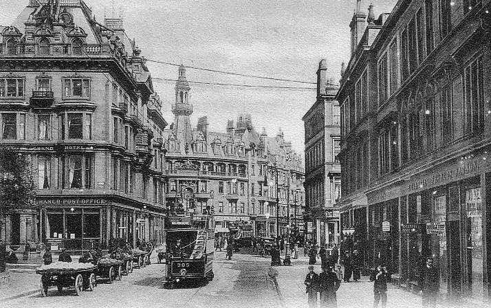 Old Photographs Charing Cross Glasgow Scotland Glasgow Scotland
