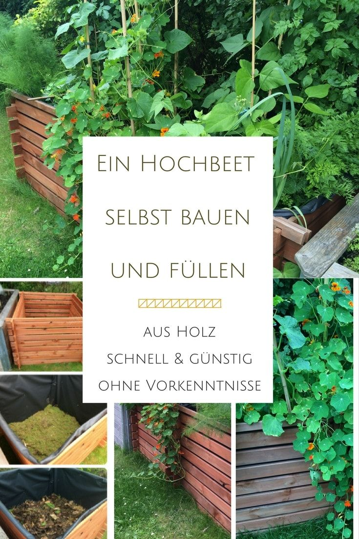 Ein Hochbeet Aus Einem Komposter Bauen Und Befullen Anleitung Mit Bildern Hochbeet Gemusehochbeet Komposter Bauen