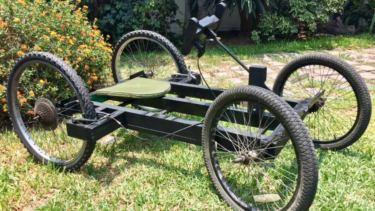 Building A Homemade Wooden Car With Bicycle Wheels Algots Fordon