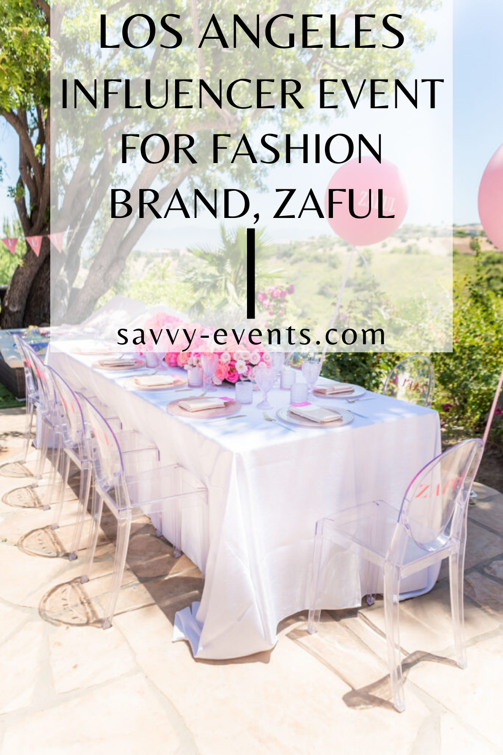 Los Angeles Influencer Event for Fashion Brand, ZAFUL in