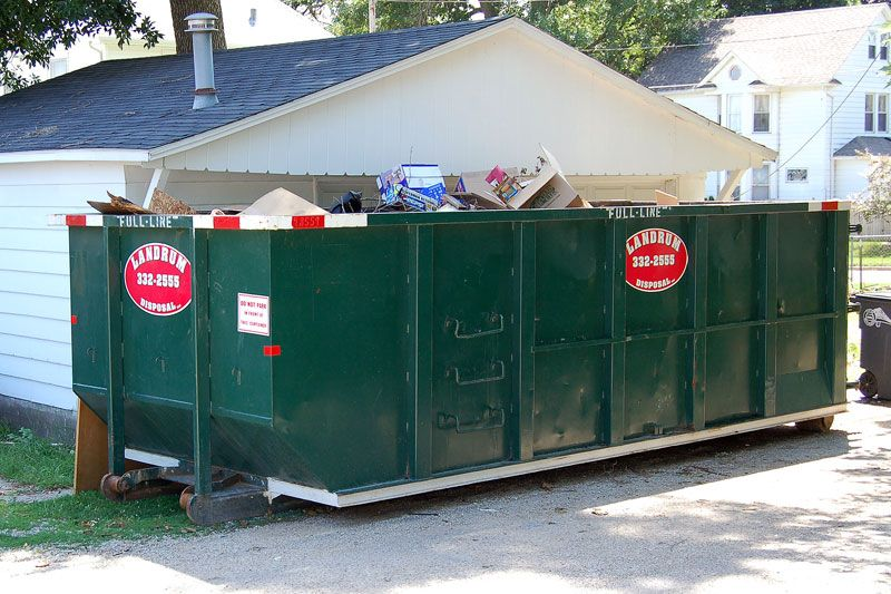 A Homeowner In West Newbury Ma Rented A 10 Yard Open Top Container For A Garage Cleanout Lumber Unwanted Materials And No H Newbury Dumpster Dumpster Rental