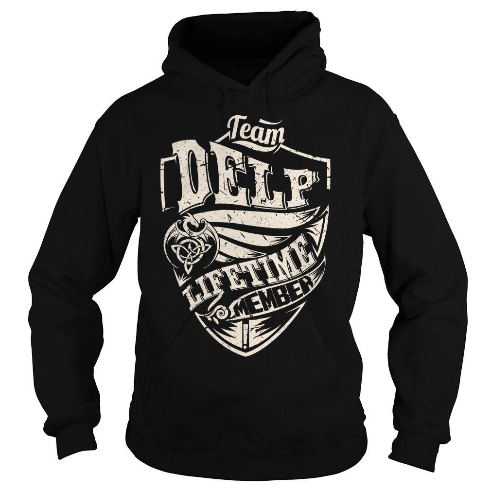 Team DELP Lifetime Member (Dragon) - Last Name, Surname T-Shirt