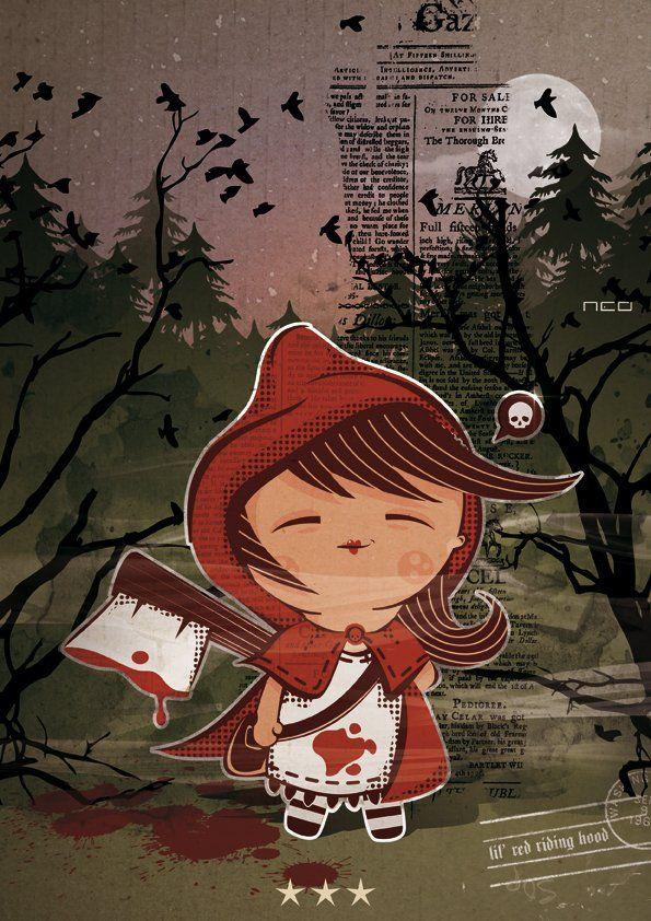 Маха - Картинки: Красная Шапочка | Красная шапочка ...
