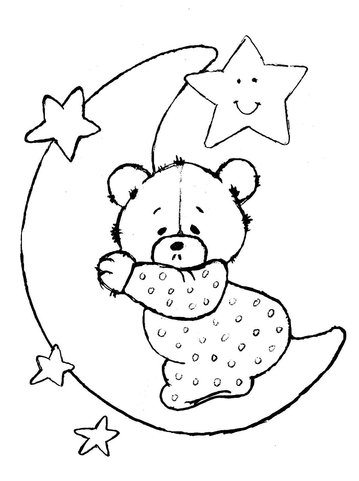 Hora de dormir... | dibujos infantiles | Pinterest | Duerme, Molde y ...