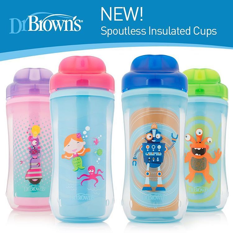 Image result for Dr Brown hard Spoutless Insulated Cup (10oz/300ml)
