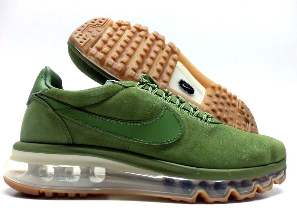 newest collection 5e315 10440 NIKE AIR MAX LD ZERO ID OLIVE GREEN/GUM BRWON SIZE WOMEN'S 7 ...