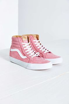 pink old skool vans high top