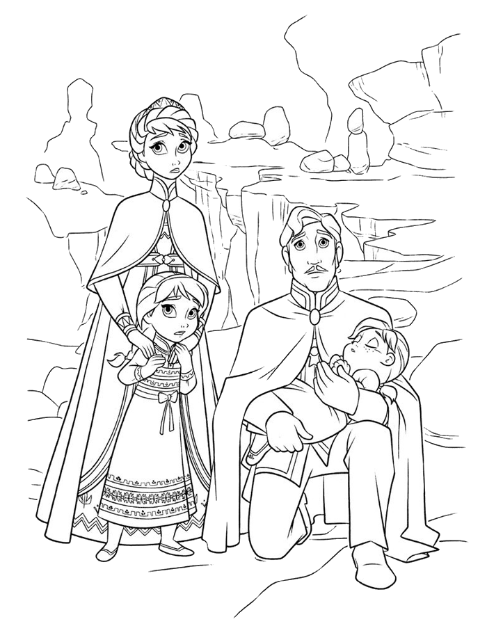 Kings And Queens And Children Coloring Pages For Kids C6x Printable Kings Queens And Princesses Coloring Pages For Kids Buku Mewarnai Halaman Mewarnai Elsa