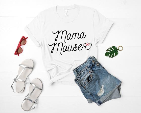 Mama Mouse Shirt   Disney T Shirt   Mom TShirt   Disney Mom T-Shirt   Disney Day