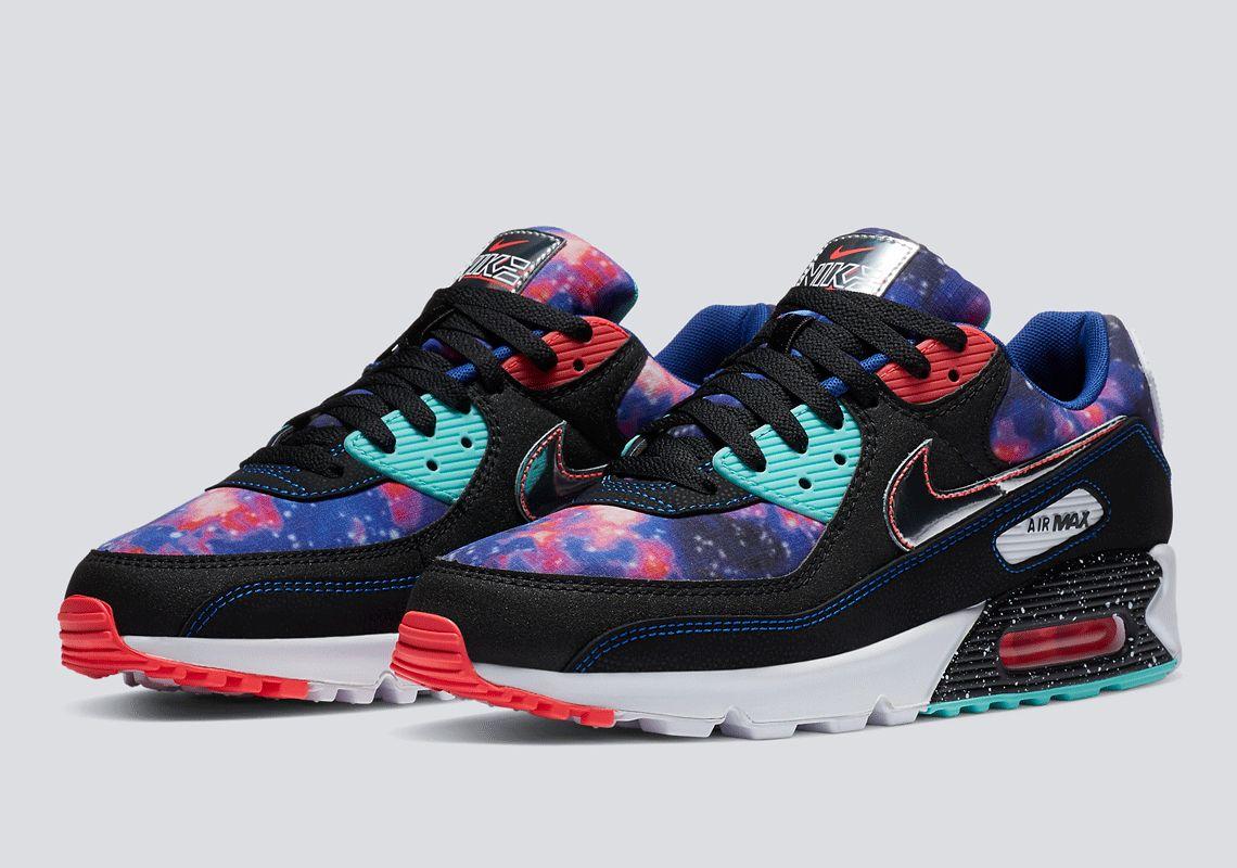 Nike Air Max 90 Supernova Galaxy CW6018001 SneakerNews
