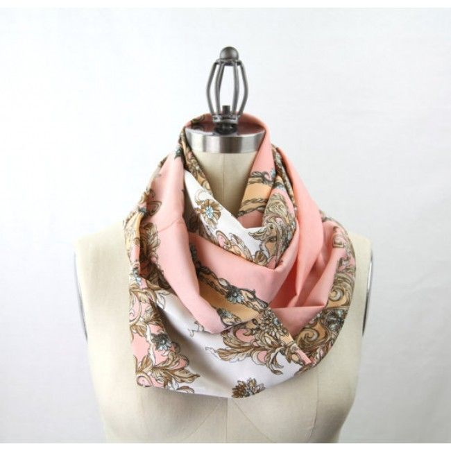 Vintage Inspired Infinity Scarf