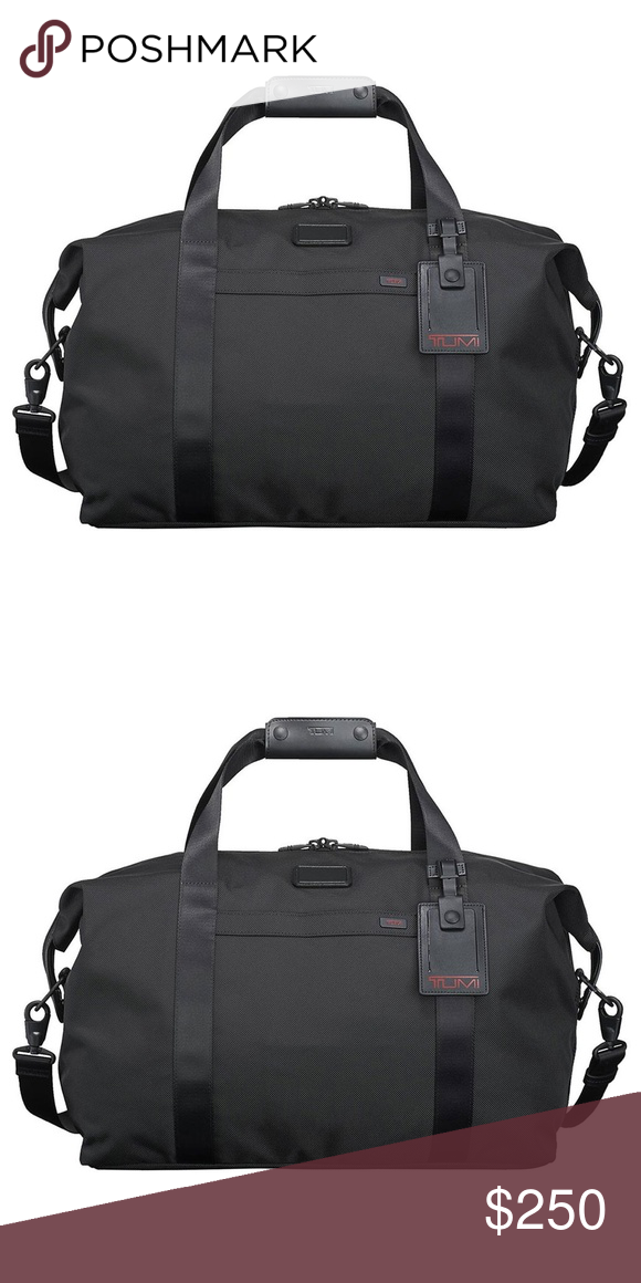 TUMI Black Corporate Collection Duffel Bag!. NEW TUMI Black Corporate  Collection Weekender Duffel Bag 7cd63b9a5c1b5