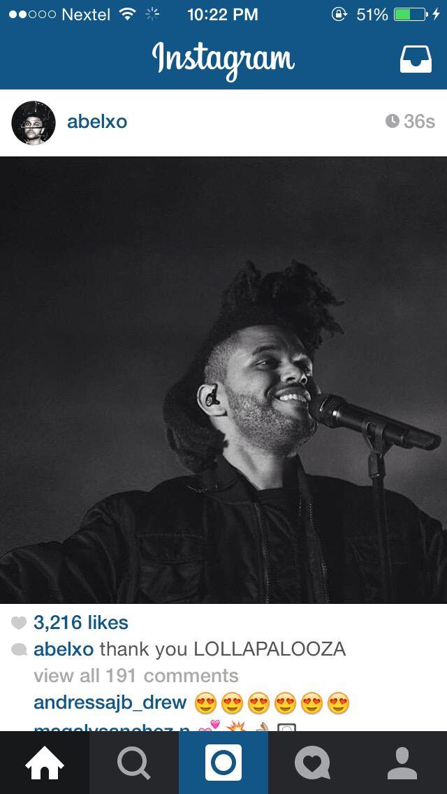 The Weeknd x Lollapalooza || 7.30.15