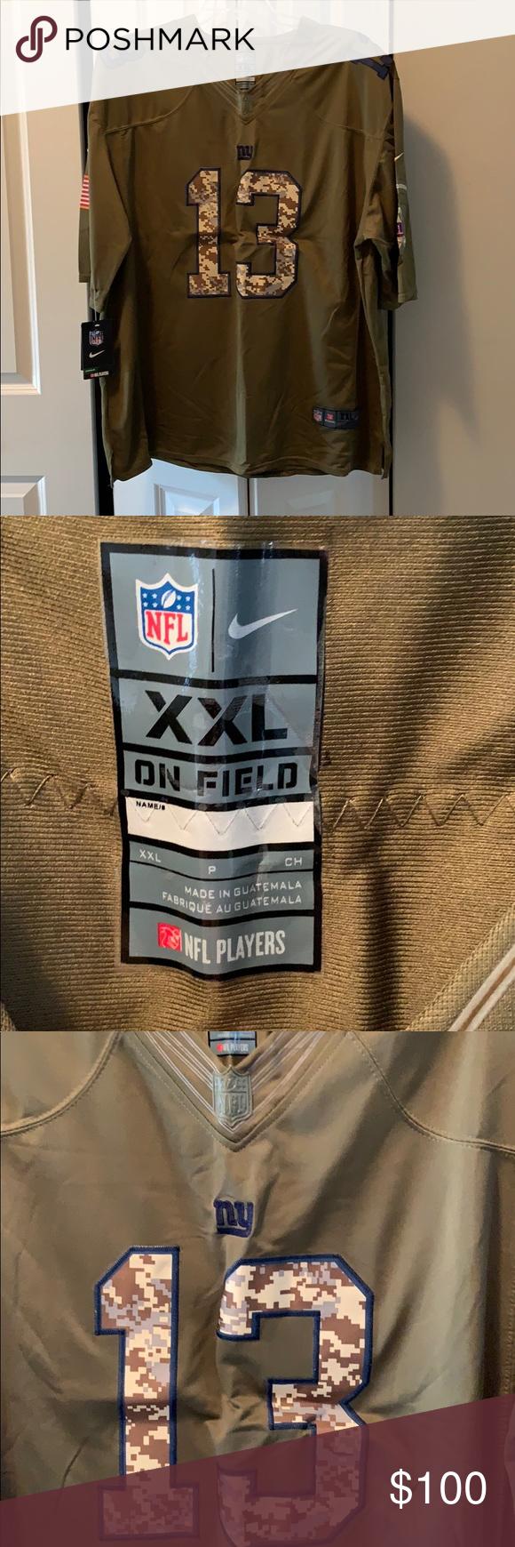 NFL NIKE Beckham Jr Jersey (salute to service) Brand new. RARE. Salute to service. Nike Shirts #salutetoservice NFL NIKE Beckham Jr Jersey (salute to service) Brand new. RARE. Salute to service. Nike Shirts #salutetoservice
