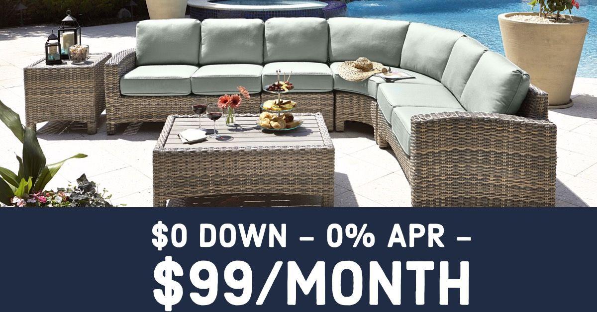 0 Down W 0 Apr 99 A Month Outdoor Furniture Deals Outdoor Furniture Sets Outdoor Furniture