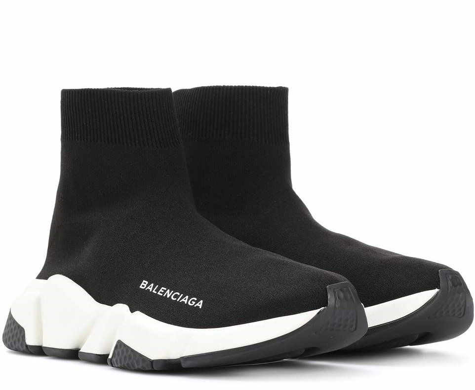 471796a46cfbe Balenciaga+Speed+Trainer+Sock+sneakers+shoes+39+BLACK