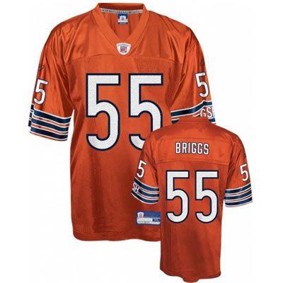Lance Briggs Orange Jersey  19.99 football jerseys wholesale  a0e698526e68f