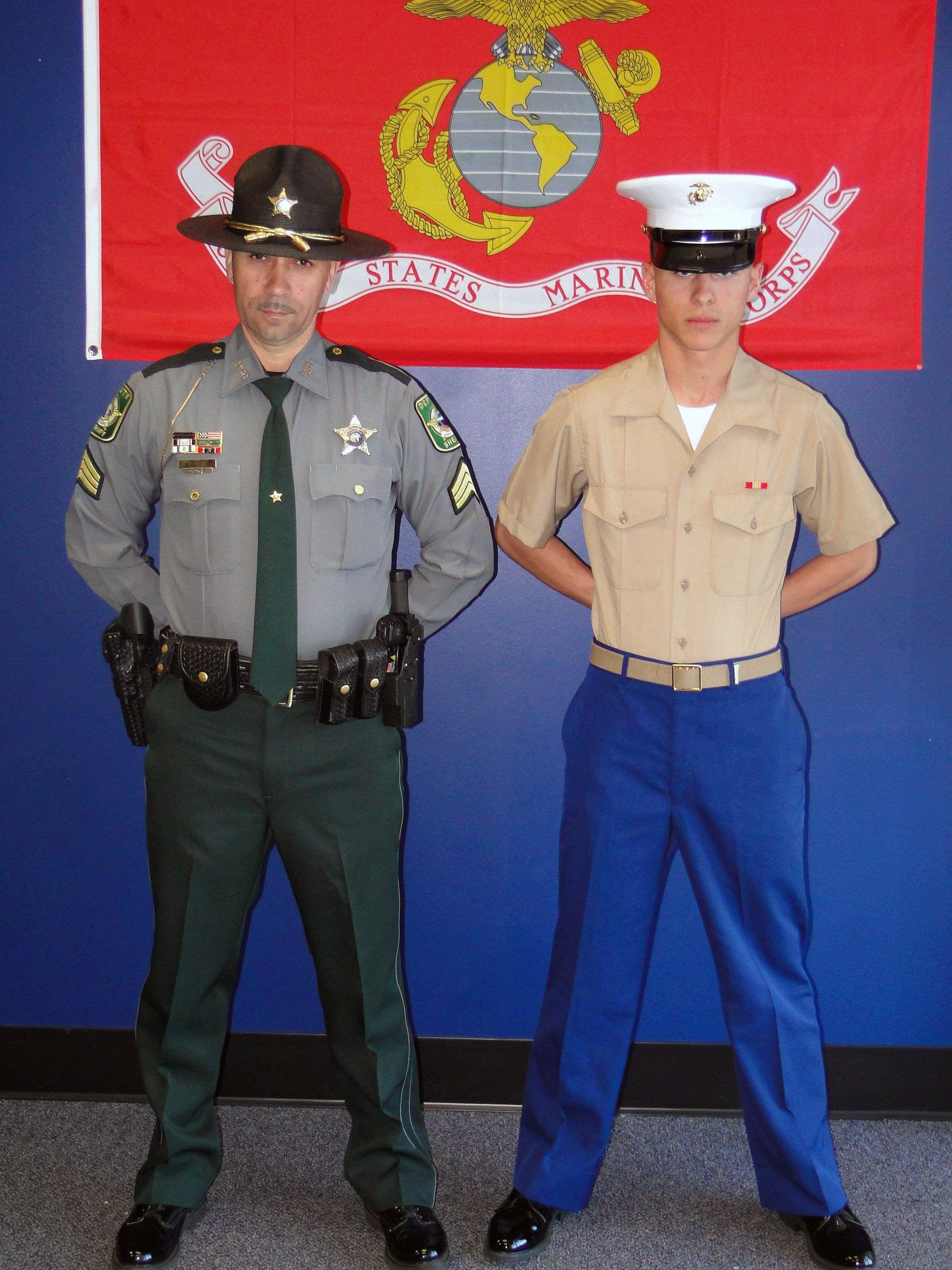 Pasco sheriff's deputy, teacher mentor young Marine | TBO