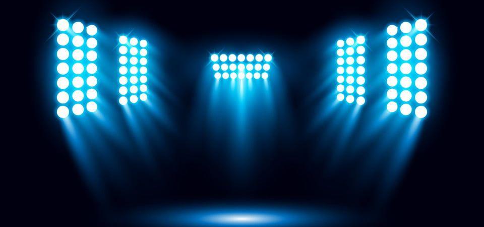 Single Stadium Light Background Design De Palco Iluminacao Design