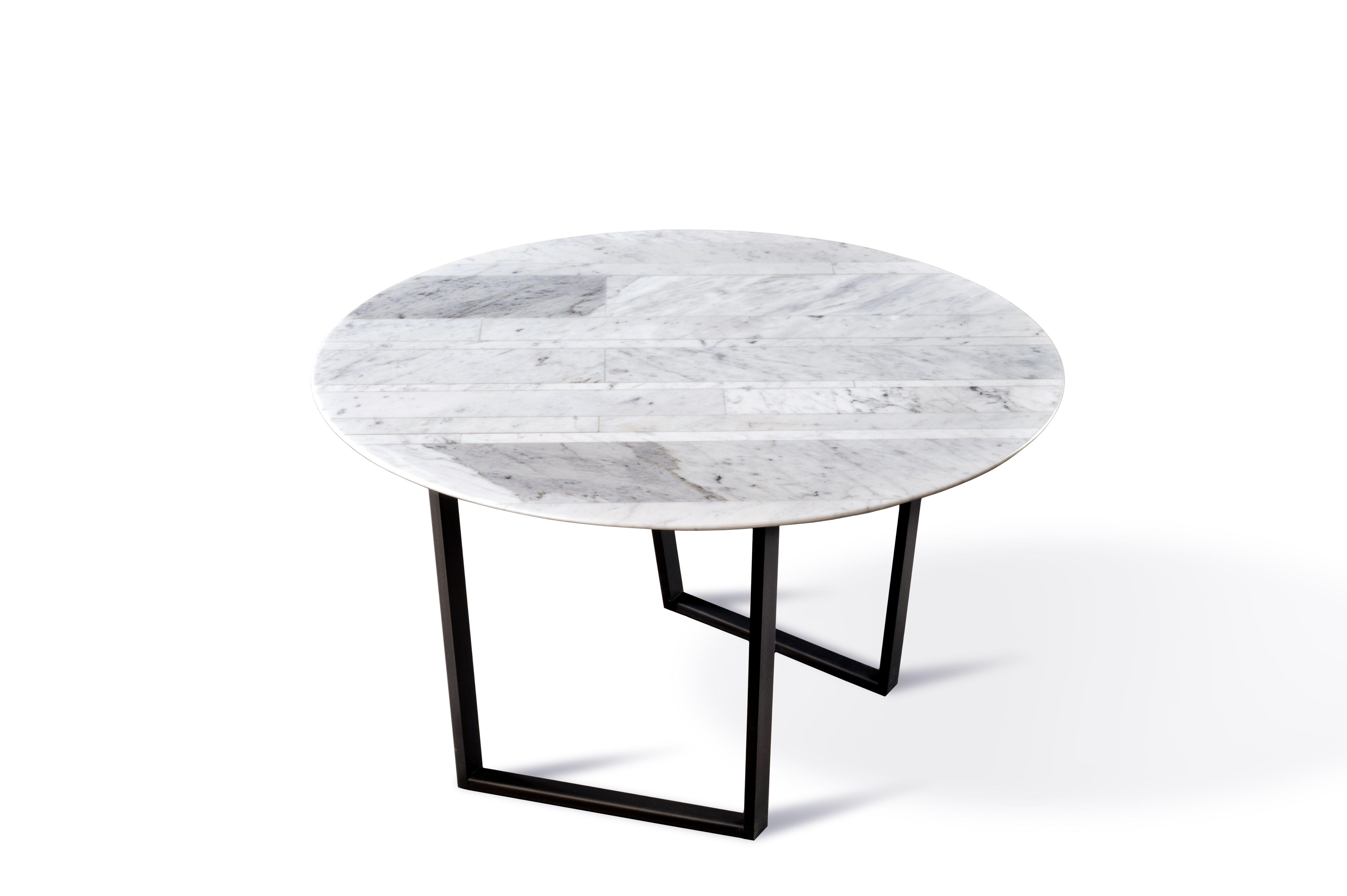 Dritto Side Table In White Carrara Lithoverde Designed By Piero Lissoni And Salvatori Tavoli Marmi Idee