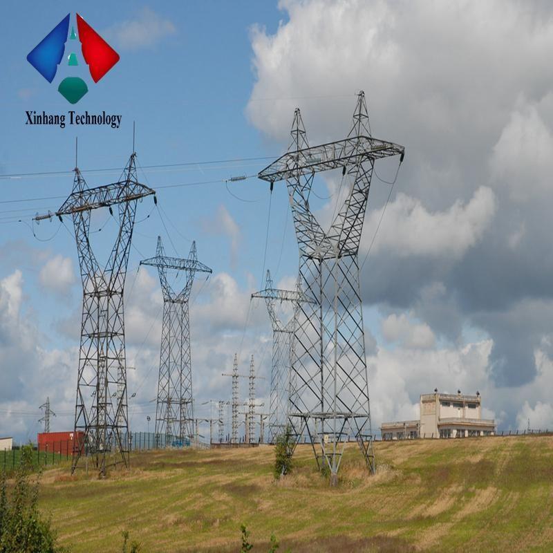 220kv 110kv 132kv Towers And Lattice Masts Double Circuit Polygon