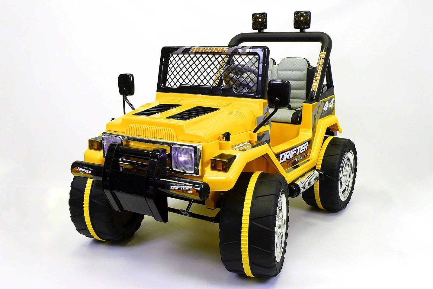 Jeep Wrangler Style 12V Kids Power Wheels MP3 Battery