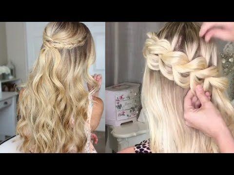 Hermosos Peinados De Moda Tutorial 2017 Youtube Hairstyles For