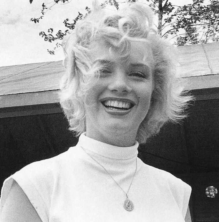 Marilyn Monroe During The Shooting Of Her 1953 Film NIAGARA Possibly My Favorite Hers One Films Period Its Hitchcock