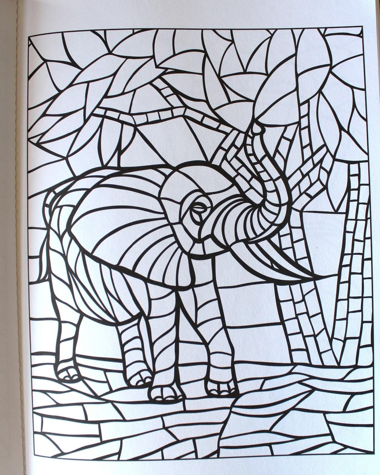 creative haven animal mosaics coloring book creative haven coloring coral reef animals coloring pages creative