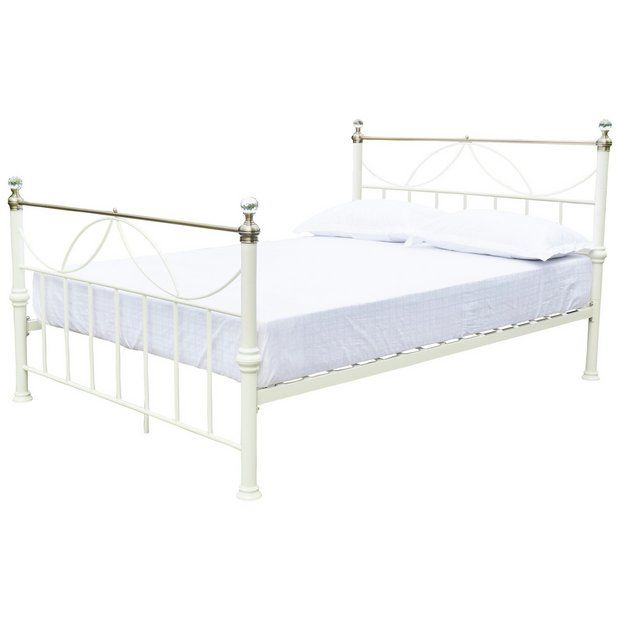 Buy Home Crystal Ivory Bed Frame Double At Argos Co Uk Your