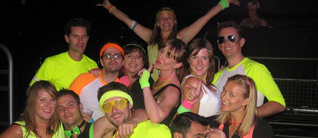 Neon UV Rave - 31 Top Fancy Dress Ideas For Students - http://universitycompare.com/fun/top-best-cheap-fancy-dress-ideas-for-students-2014/
