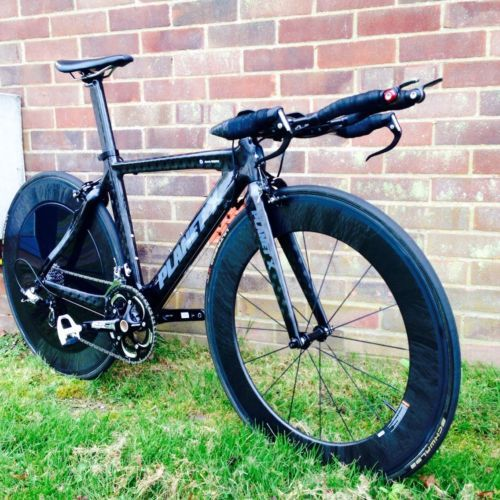 2013 Planet X Stealth Time Trial Triathlon Bike Sram Force 82
