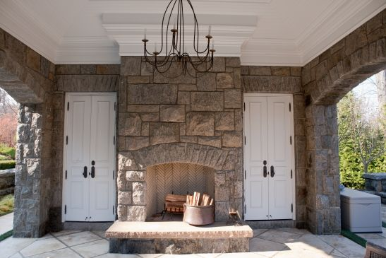Remarkable Stone Fireplace Stone Fireplace Installer Stone Chimney Home Interior And Landscaping Ologienasavecom