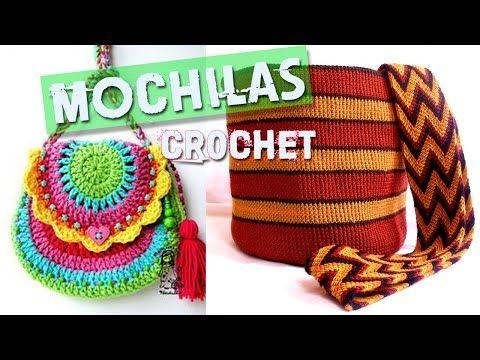 Como hacer tira gasa fajon tipo wayuu youtube - Como hacer bolsos tejidos ...