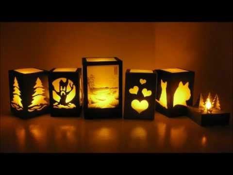 Handmade Paper Night Light Lamps Paper Lanterns Paper Lanterns