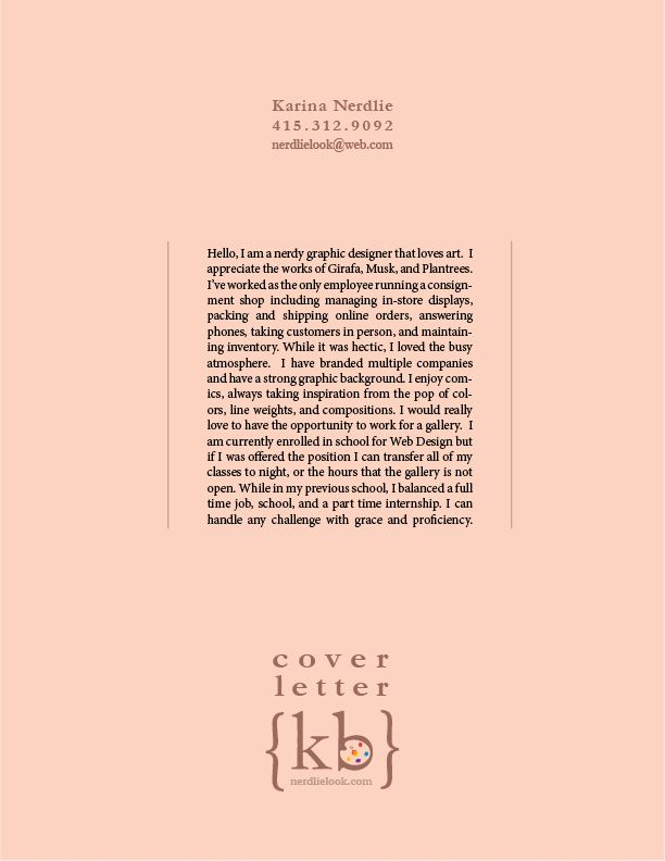 graphic design cover letter rsum - Interior Designer Cover Letter