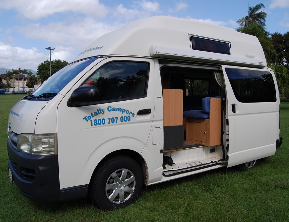 Totally Campers Cairns is about freedom and comfort. Hire