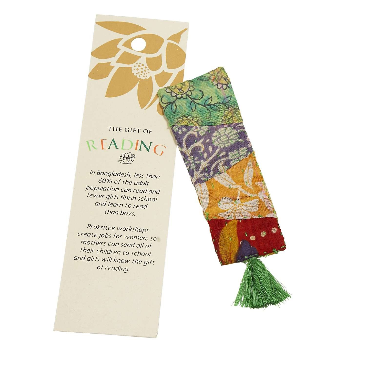 Gift of Reading Sari Bookmark Teacher gifts, Gifts