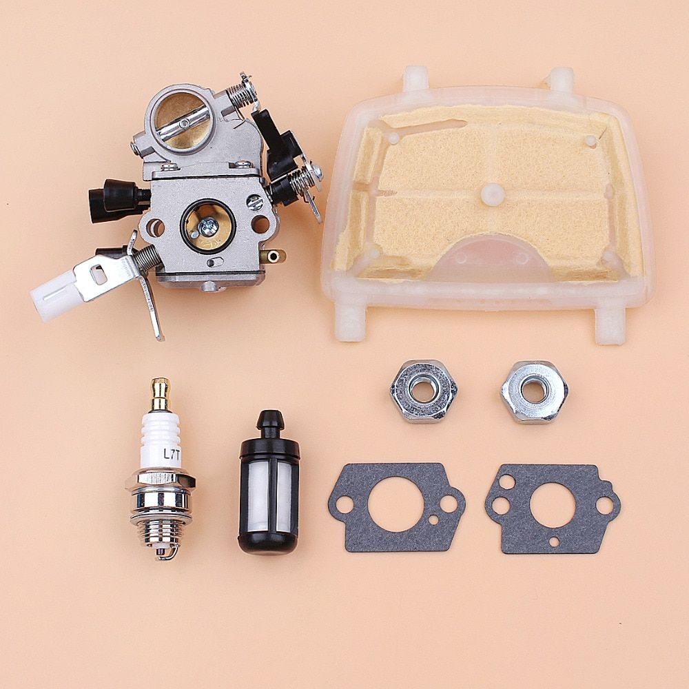 Carburetor Gasket Air Filter Kit For STIHL MS171 MS181