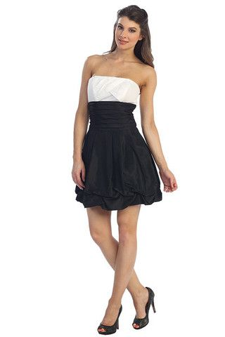 A Line/Princess Strapless Sweetheart Neckline Home Coming Party ...