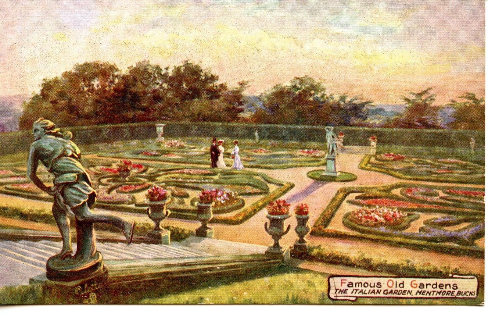 Italian Garden, Mentmore, Buckinghamshire. Famous Gardens series ...