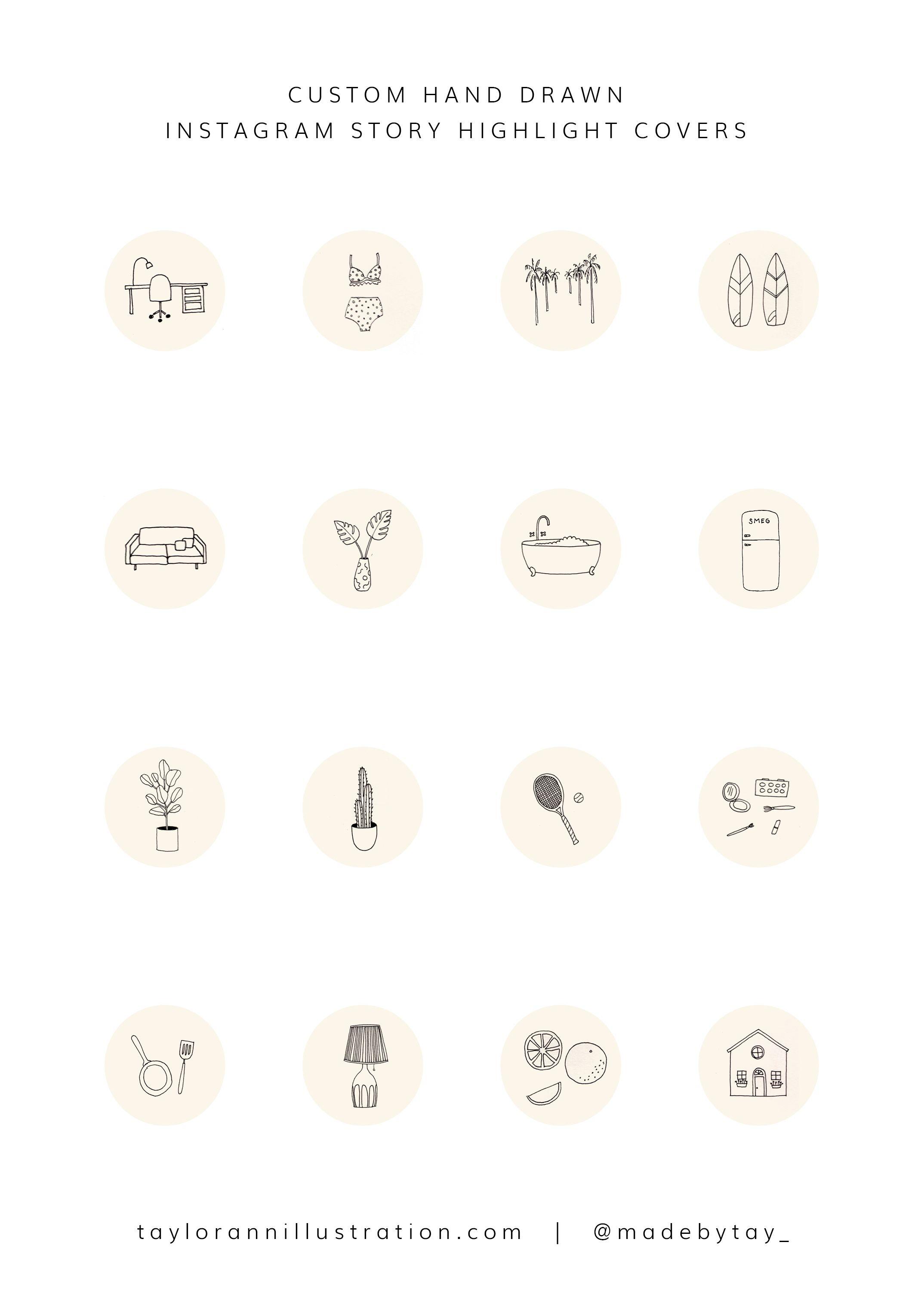 Custom Insta Story Highlight Covers Instagram Branding Instagram Highlight Icons Instagram Graphics
