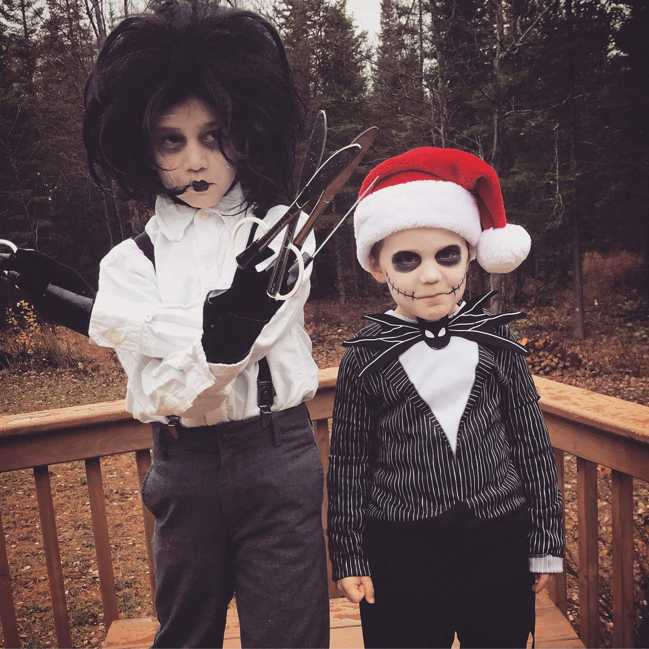Edward Scissorhands and Jack Skellington Halloween