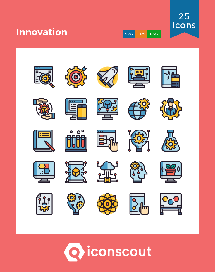 Download Innovation Icon Pack Available In Svg Png Eps Ai Icon Fonts Icon Pack Icon Icon Font