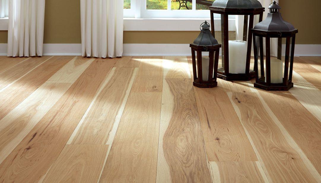 Garden Path Home Wide Plank Flooring Hickory Flooring